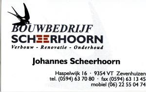 logo scheerhoorn